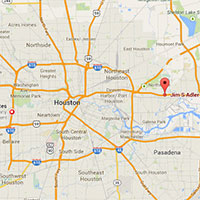 Jim Adler Channelview Office Map
